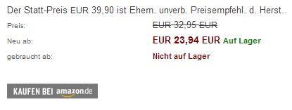 Nach der Umstellung zeigt das Plugin deutsche Texte sowie einen deutschen Amazon Button im Frontend.