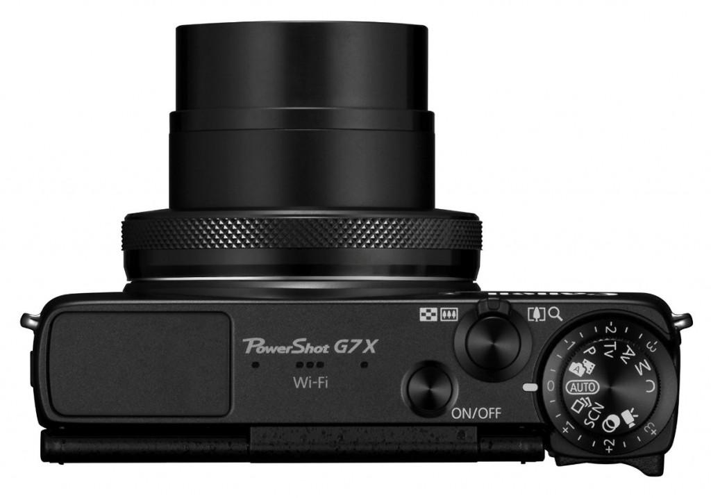 Canon PowerShot G7 X von  Oben