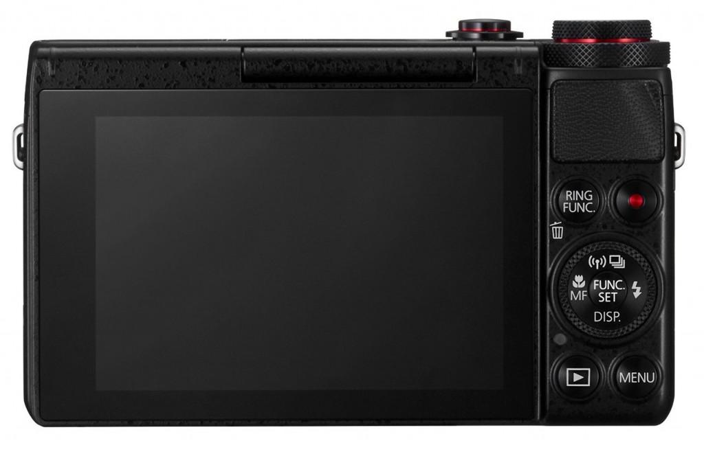 Canon PowerShot G7 X von Hinten