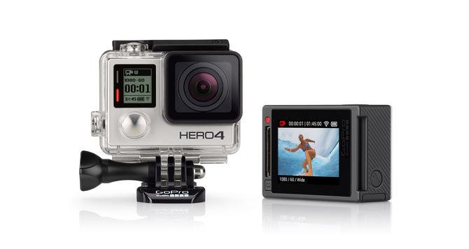 Die neue GoPro HERO4 mit eingebautem Touch-Display. Bild: gopro.com